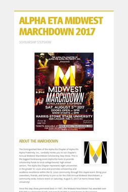 ALPHA ETA MIDWEST MARCHDOWN 2017