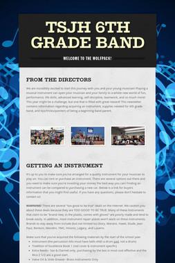 TSJH 6th Grade Band