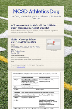 MCSD Athletics Day