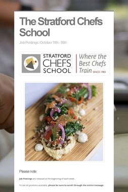 The Stratford Chefs School