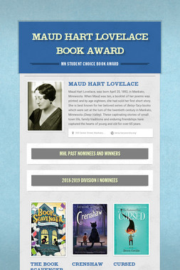 Maud Hart Lovelace Book Award