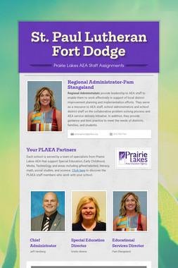 St. Paul Lutheran Fort Dodge