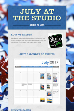 July at the Studio