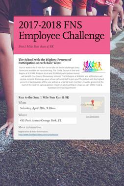 2017-2018 FNS Employee Challenge