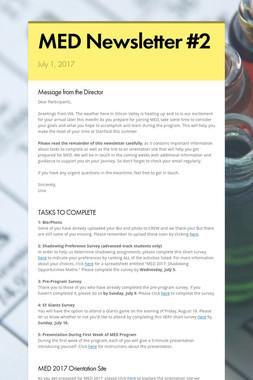 MED Newsletter #2
