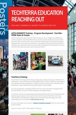 TECHTERRA EDUCATION    REACHING OUT