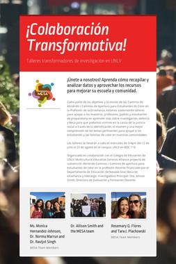 ¡Colaboración Transformativa!