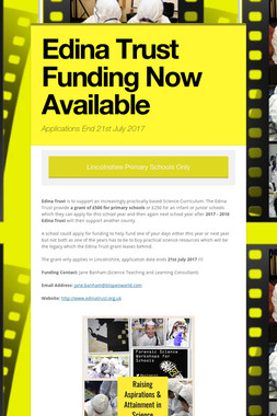 Edina Trust Funding Now Available