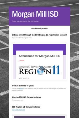 Morgan Mill ISD