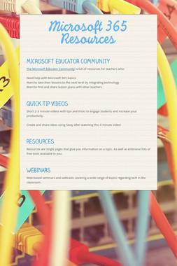 Microsoft 365 Resources