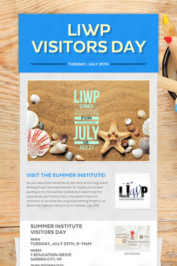 LIWP Visitors Day
