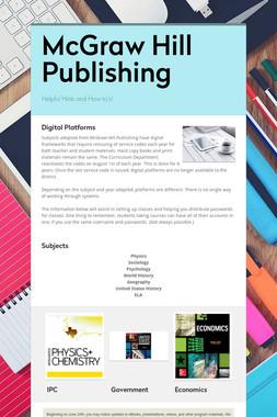 McGraw Hill Publishing