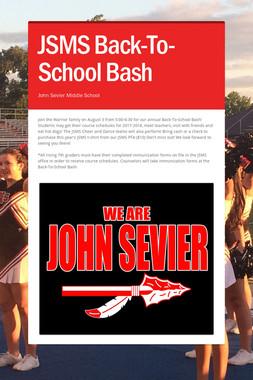 JSMS Back-To-School Bash