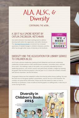 ALA, ALSC, & Diversity