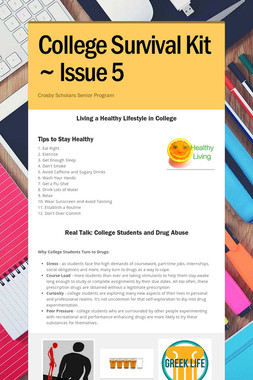 College Survival Kit ~ Issue 5