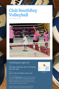 Club SouthBay Volleyball