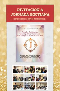 INVITACIÓN A JORNADA EGCTIANA