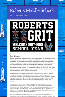Roberts Middle School