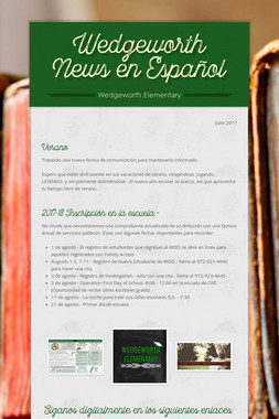 Wedgeworth News en Español