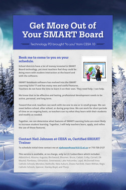 Get More Out of Your SMART Board