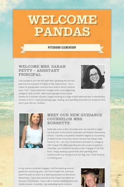 Welcome  Pandas