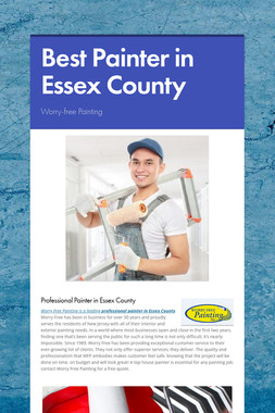 Best Painter in Essex County