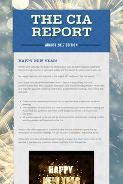 The CIA Report