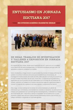 ENTUSIASMO EN JORNADA EGCTIANA 2017