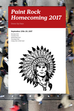 Paint Rock Homecoming 2017