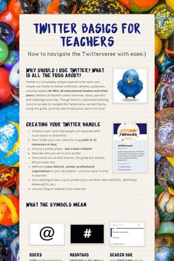 Twitter Basics for Teachers