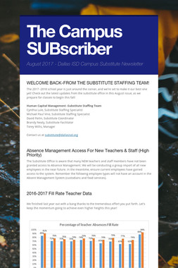The Campus SUBscriber