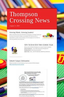 Thompson Crossing News