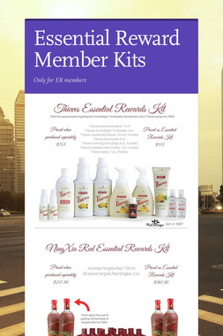 Essential Reward Member Kits