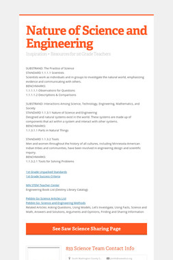 Nature of Science and Engineering