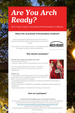 Are You Arch Ready?