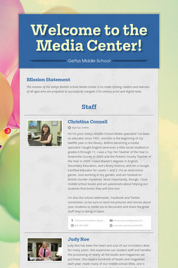 Welcome to the Media Center!