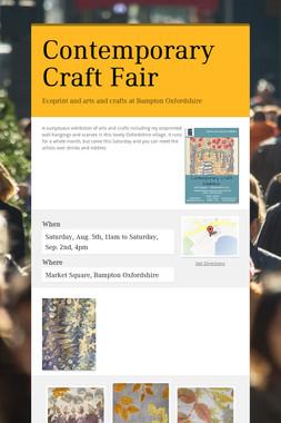 Contemporary Craft Fair