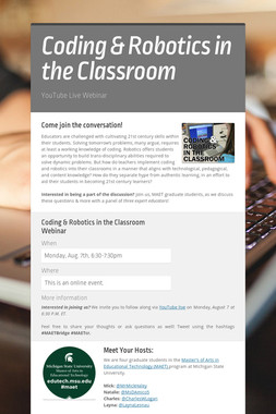 Coding & Robotics in the Classroom