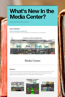 What's New In the Media Center?