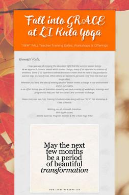 Fall into GRACE at LI Kula Yoga