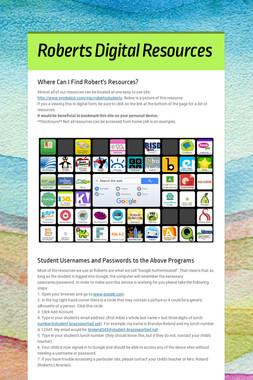 Roberts Digital Resources