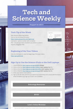 Tech and Science Weekly