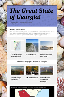 The Great State of Georgia!
