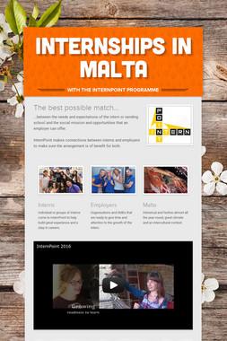 Internships in Malta