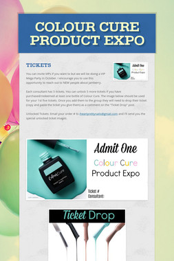 Colour Cure Product Expo