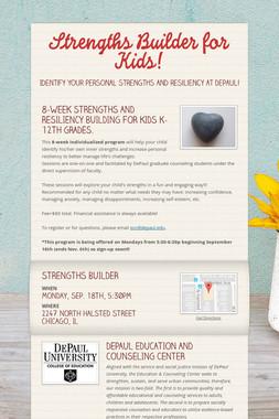 Strengths Builder for Kids!