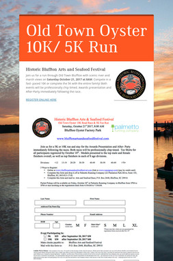 Old Town Oyster 10K/ 5K Run