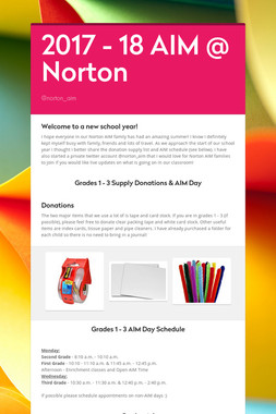 2017 - 18 AIM @ Norton