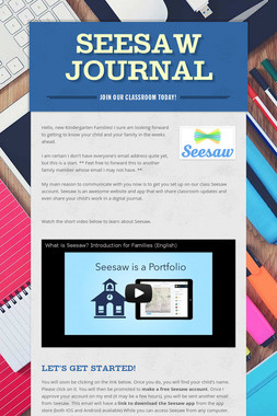 Seesaw Journal