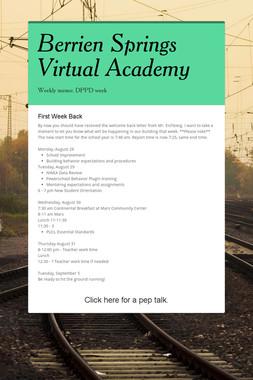 Berrien Springs Virtual Academy